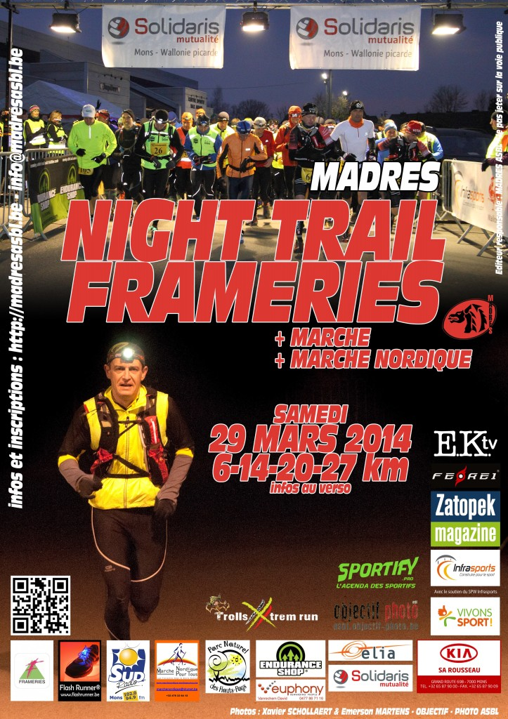 Night Trail Frameries 2014